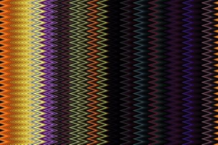 Colorful Zig Zag Background photo