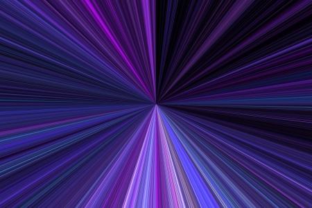 divergent: Purple Rays Stock Photo
