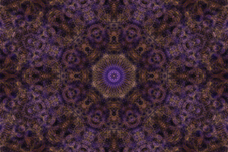 Mandala Background - coarse textured photo
