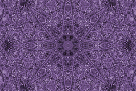 mandala: Purple Mandala Star Stock Photo