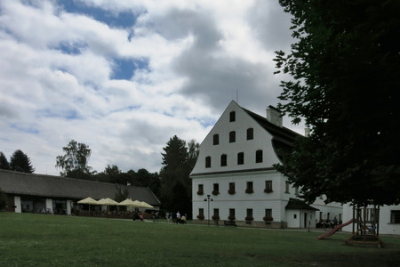velke: VELKE LOSINY, CZECH REPUBLIC - AUGUST 3: Handmade paper mill in Velke Losiny on August 3, 2016. It was founded in the 16th century and it is the oldest handmade paper mill in Central Europe.