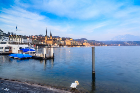 lucerne: Lakeshore town of Lucerne