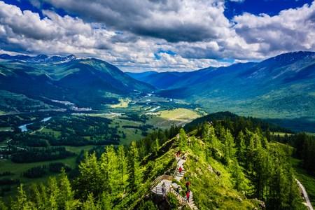 Kanas landscape Stok Fotoğraf