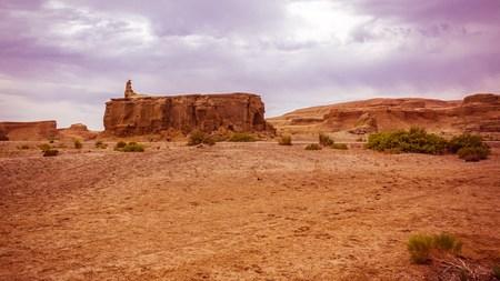 xinjiang: Ghost City dans le Xinjiang