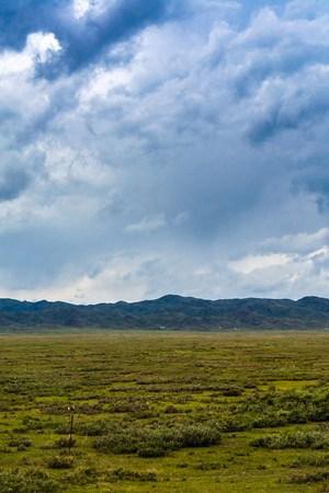 xinjiang: Xinjiang scenery along the way Banque d'images
