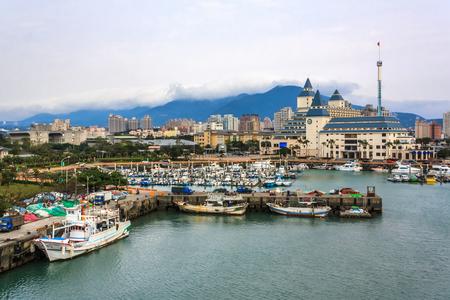 wharf: Taiwan Taipei Tamsui Fishermans Wharf