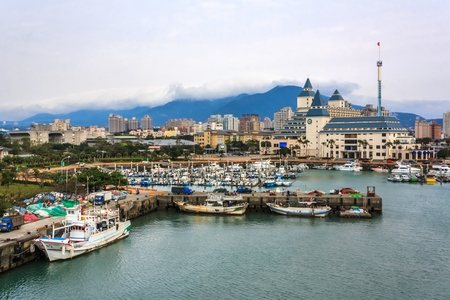 Taiwan Taipei Tamsui Fishermans Wharf