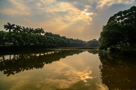 bucolic: China Guangdong Fengkai Yongsan area