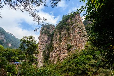 guangdong: China Guangdong Fengkai Melaleuca peak Stock Photo
