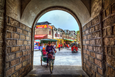 ming: China Guangdong Chaozhou Song Ming Dynasty City Wall Editorial
