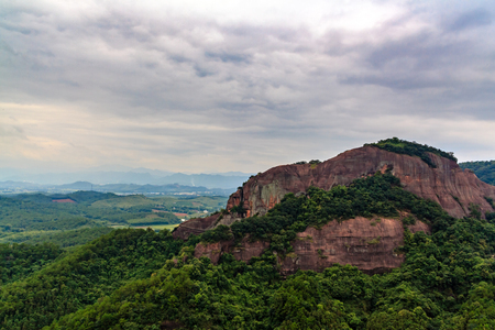 redstone: Danxia Mountain Nature