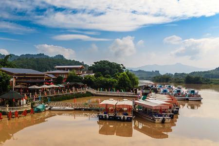 redstone: boat Danxia