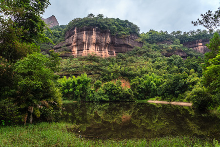 redstone: Danxia landscape