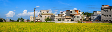guangdong: Guangdong Kaiping Watchtowers Canada Village Stock Photo