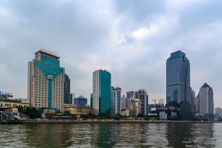 old port: Pearl River Huangpu Old Port