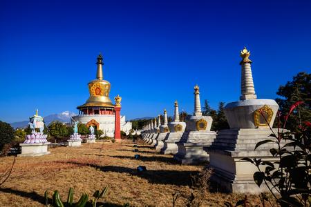 holiness: Buddhist temple