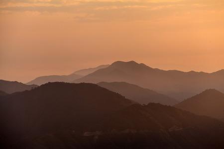 hunan: Hunan Mangshan Tiantai Mountain landscape view