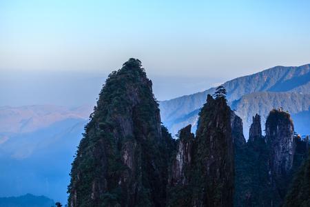 Hunan Mangshan Tiantai Mountain Stock Photo