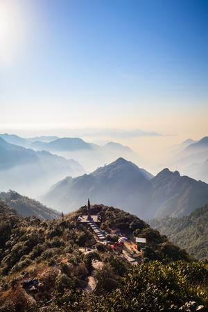 hunan: Hunan Mangshan Tiantai Mountain Editorial