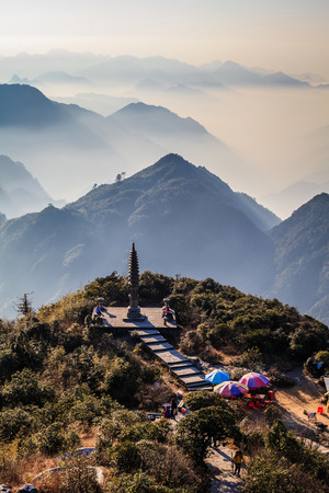 hunan: Hunan Mangshan Tiantai Mountain Editorial
