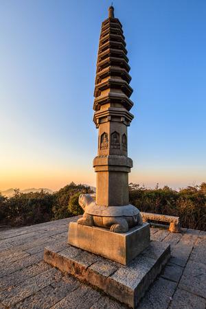 national geographic: Hunan Mangshan Tiantai Mountain Editorial