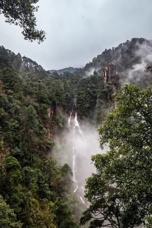 Hunan Mangshan devils Falls Village