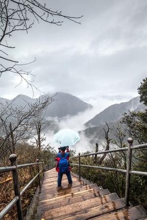 Hunan Mangshan Jiangjunzhai (Devils Village)