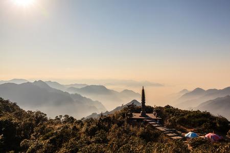 Hunan Mangshan Tiantai Mountain Editorial