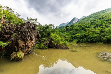 area: Anshun Tianxingqiao Scenic Area