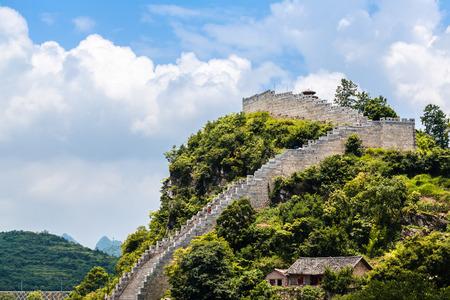 貴陽市 Qingyan の古代の町 写真素材