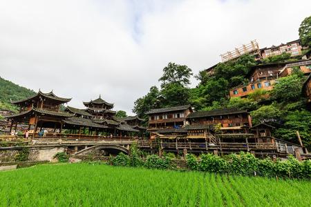 lou: Kaili Lei Shanjiang thousands of Miao Village Editorial