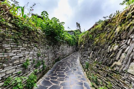 Guiyang Qingyan ancient town Stok Fotoğraf