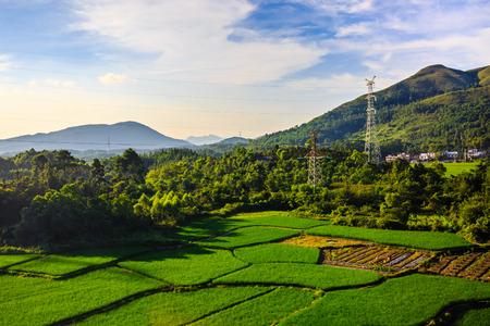 along: Guizhou tourism along the landscape