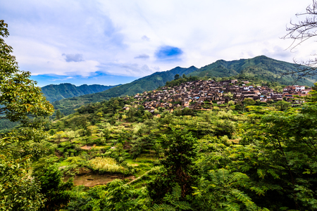 guangdong miao village scenery