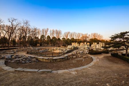Yuanmingyuan West House ruins