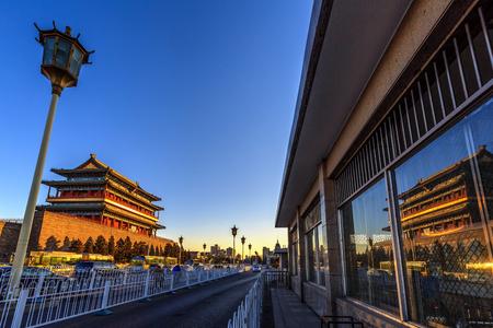 Zhengyangmen tower Editorial
