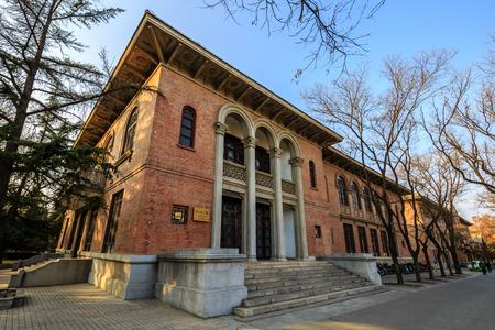 北京清華大学、2 番目の教育建物