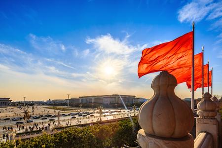 Beijing Tiananmen Square Фото со стока - 78582525