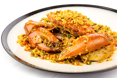 Typhoon pond crabs Reklamní fotografie - 88024442