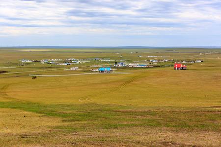 Inner Mongolia Hulunbeier Mongolia yurts