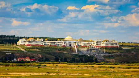Inner Mongolia Hulunbeier mountain temple