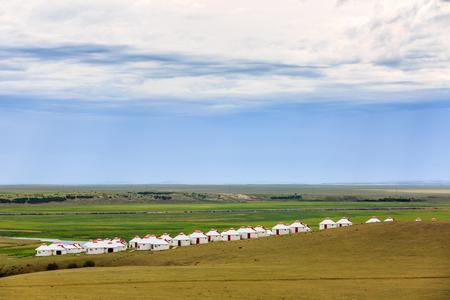 Inner Mongolia Hulunbeier Mongolian tribes yurts