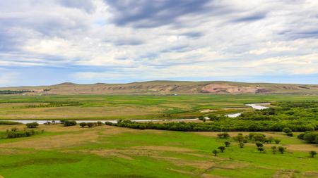 Inner Mongolia Hulunbeier wetlands Stok Fotoğraf - 96284395