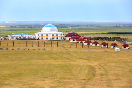 Inner Mongolia Hulunbeier yurts