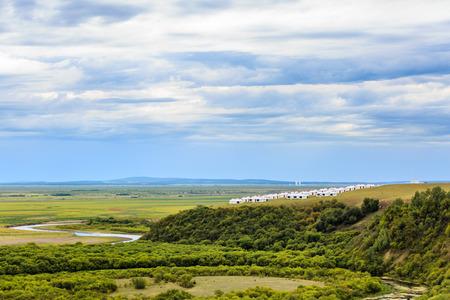 Inner Mongolia Hulunbeier wetlands Stok Fotoğraf - 96285527