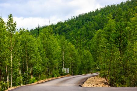 Moore Road, Inner Mongolia National Forest Park