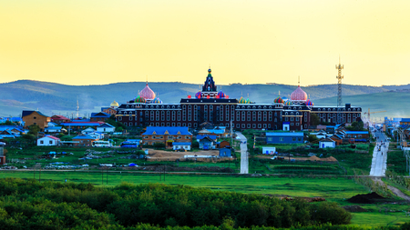 Inner Mongolia Russian National Township Sophia Hotel Editorial