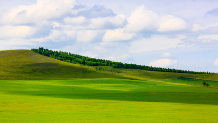 Inner Mongolia Hulun Buir beautiful scenery