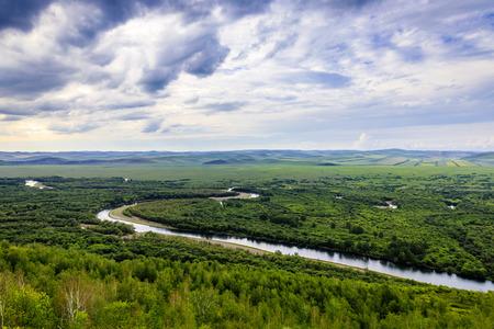 Inner Mongolia Hulunbuir Erguna Wetland Park