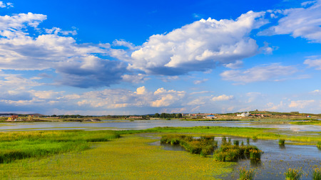 Inner Mongolia Hulunbeier two card wetland nature reserve
